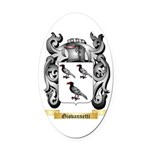 Giovannetti Oval Car Magnet