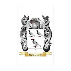 Giovannetti Sticker (Rectangle 10 pk)