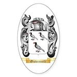 Giovannetti Sticker (Oval 50 pk)