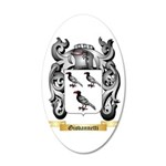 Giovannetti 20x12 Oval Wall Decal