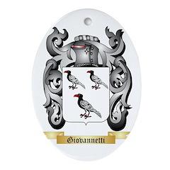 Giovannetti Ornament (Oval)