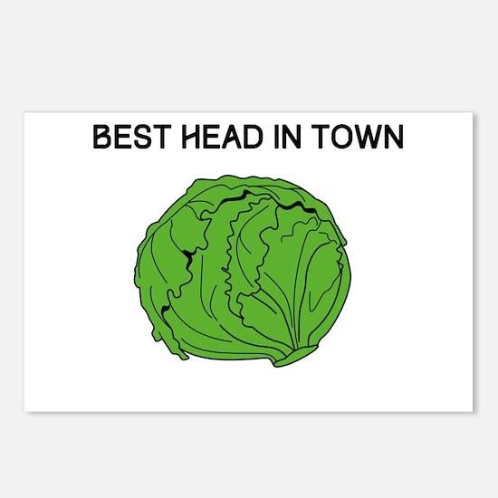 Best Head In Town Postcards (Package of 8)