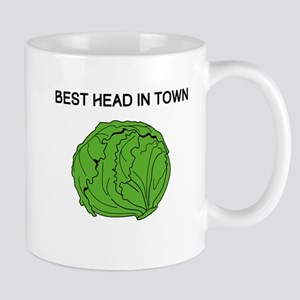 Best Head In Town Mugs