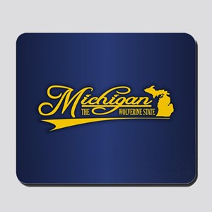 Michigan State of Mine Mousepad