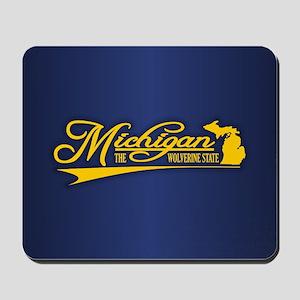 Michigan State of Mine Mousepad