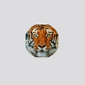 Tiger in Water Photograph Mini Button