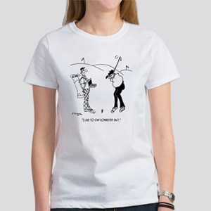 Golf Cartoon 8335 Women's T-Shirt