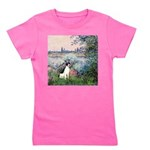 Rat Terrier - By the Seine Girl's Tee