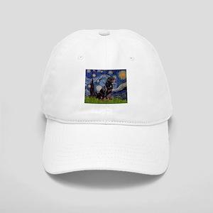 5x7-Starrynight-Rottie6 Cap