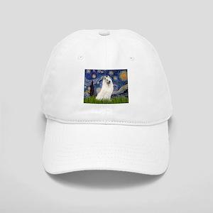 5.5x7.5-Starrynight-Samoyed1 Cap