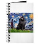 Schipperke 2 - Starry Night Journal