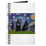 Schipperkees (two,5&6) - Starry Night Journal