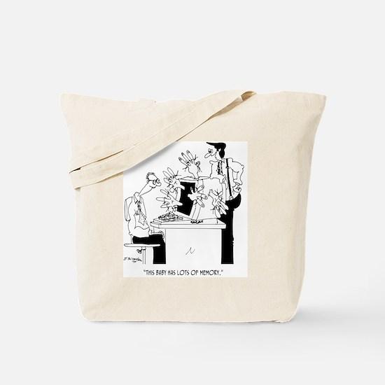 Computer Cartoon 6822 Tote Bag