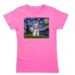 MP-Starry-Schnauzer-Whiskrs Girl's Tee