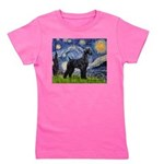 MP-STARRY-SchnauzerGiant-BlkStand Girl's Tee