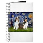 MP-Starry Night - 2 Shelties (D&L) Journal