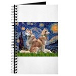 STARRY-SibHusky-RED-PAIR Journal