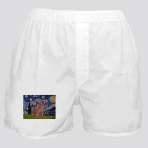 5.5x7.5-Starry-WeimPAIR.png Boxer Shorts