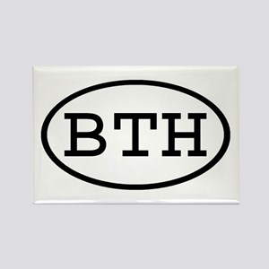 BTH Oval Rectangle Magnet