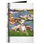 TILE-Lilies2-Whippet2 Journal