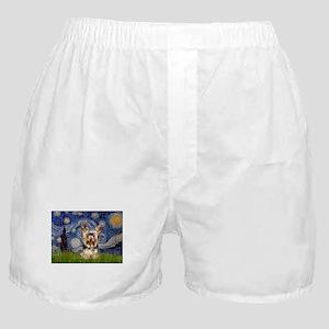 5.5x7.5-Starry-York17 Boxer Shorts