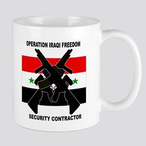 OIF Security Contractor Coffee Cup