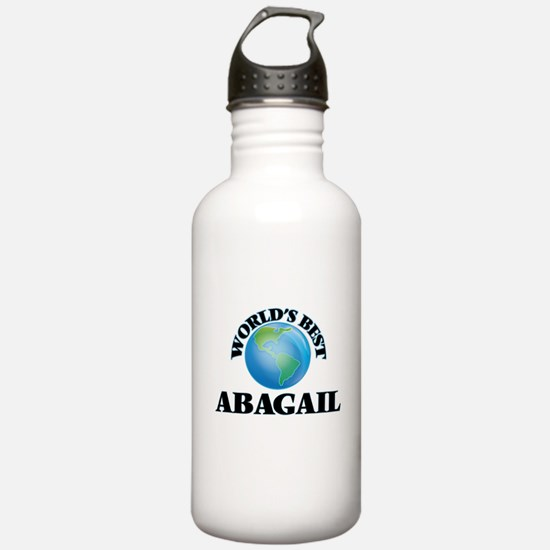 World's Best Abagail Water Bottle