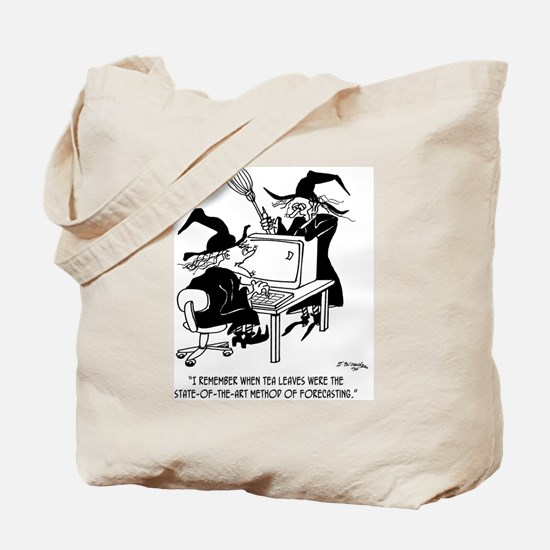 Witch Cartoon 4864 Tote Bag