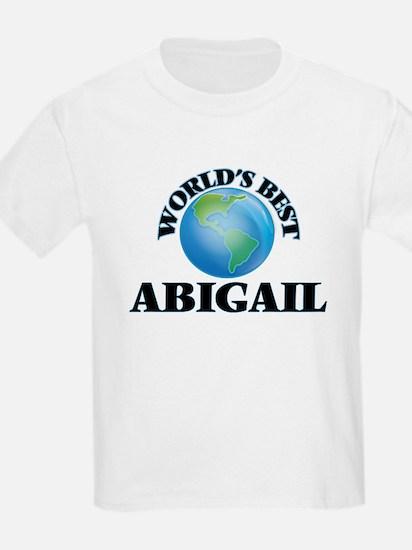 World's Best Abigail T-Shirt