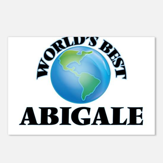 World's Best Abigale Postcards (Package of 8)