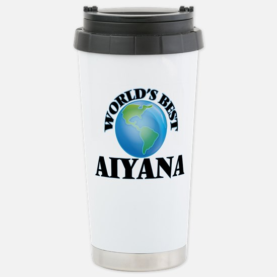 World's Best Aiyana Stainless Steel Travel Mug