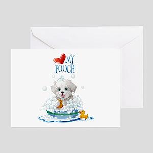 Love My Pooch- Greeting Card