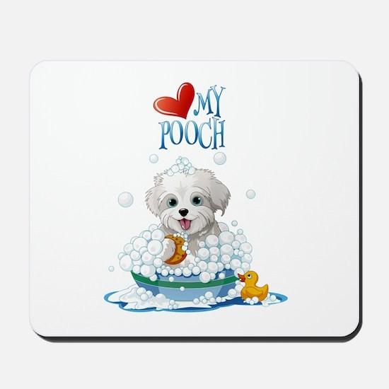 Love My Pooch- Mousepad