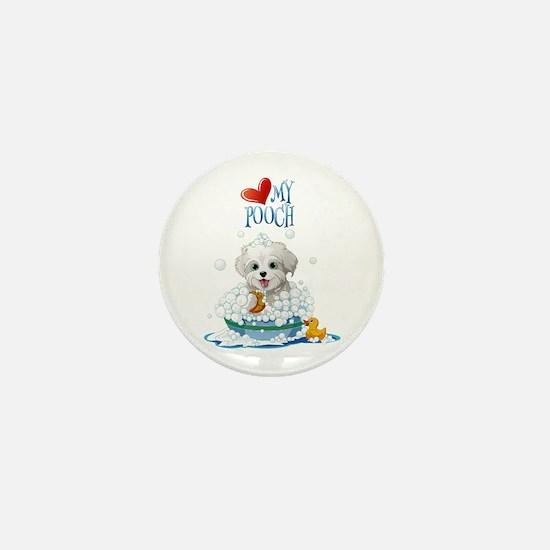 Love My Pooch- Mini Button