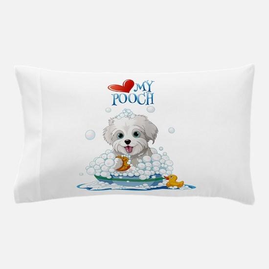 Love My Pooch- Pillow Case