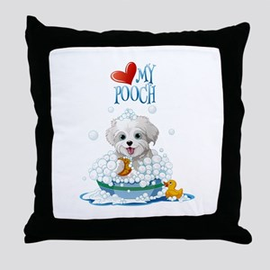 Love My Pooch- Throw Pillow