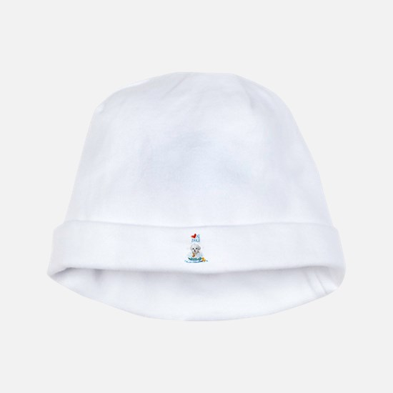 Love My Pooch- baby hat