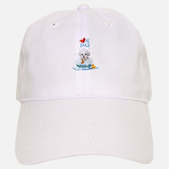 Love My Pooch- Baseball Baseball Cap