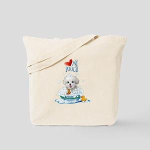 Love My Pooch- Tote Bag