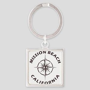 California - Mission Beach Keychains