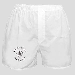 California - Mission Beach Boxer Shorts