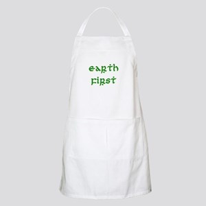 Earth First (green) BBQ Apron