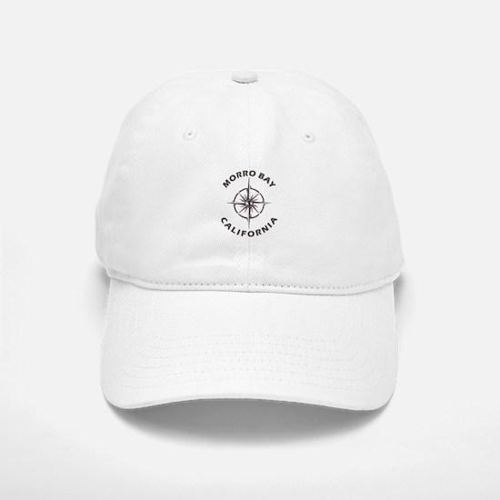 California - Morro Bay Baseball Baseball Cap