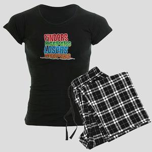 Finders Keepers Losers Weepe Women's Dark Pajamas