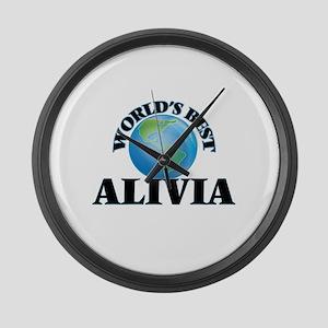World's Best Alivia Large Wall Clock