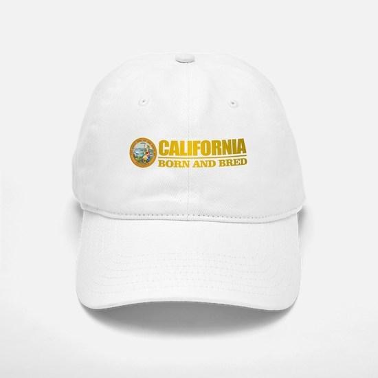 California Born and Bred Baseball Baseball Baseball Cap
