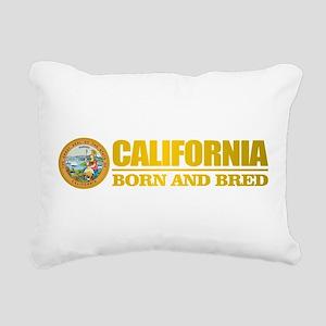 California Born and Bred Rectangular Canvas Pillow