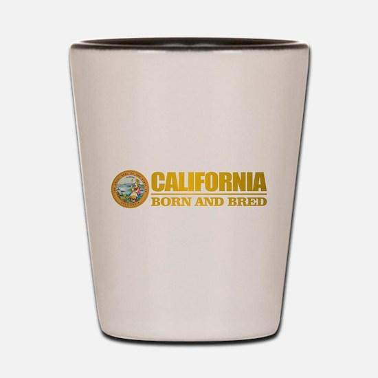 California Born and Bred Shot Glass