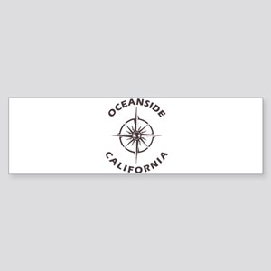 California - Oceanside Bumper Sticker