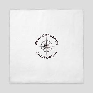 California - Newport Beach Queen Duvet